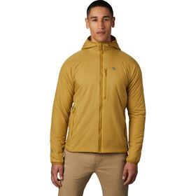 Mountain Hardwear Kor Strata Hooded Jacket Men dark bolt